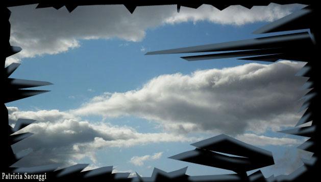 Photo du ciel Blanc/bleu