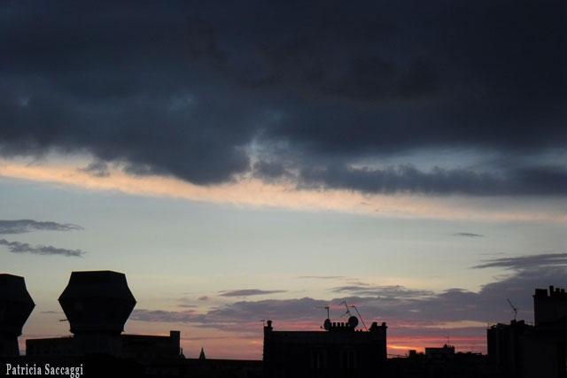 Photo du ciel Dégradé en ombres