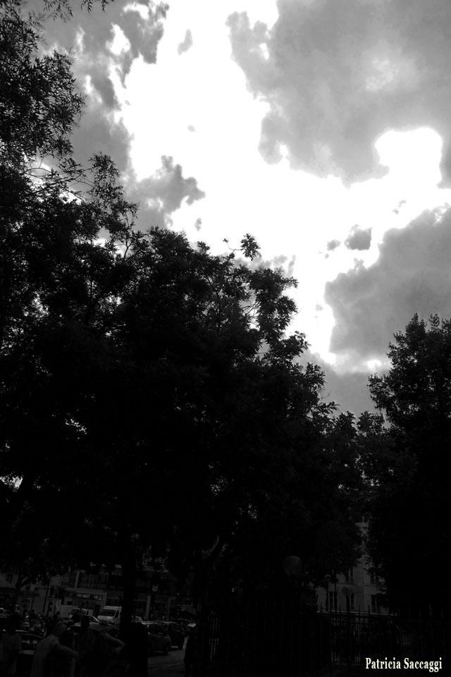 Photo du ciel Éclair