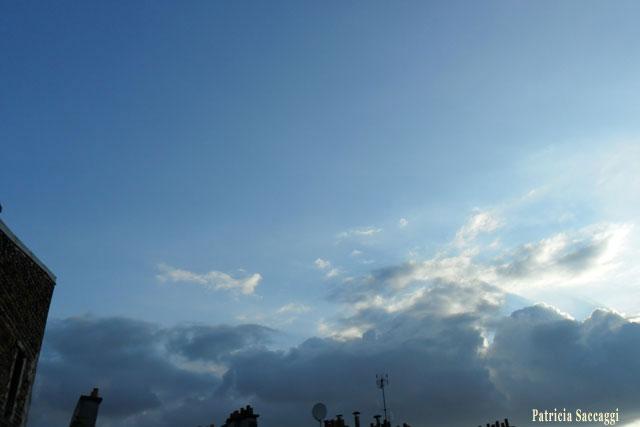 Photo du ciel Explosion