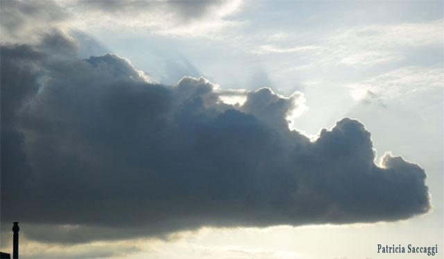 Photo du ciel Nounours allongé