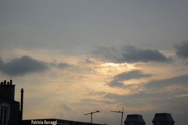 Photo du ciel Ocre