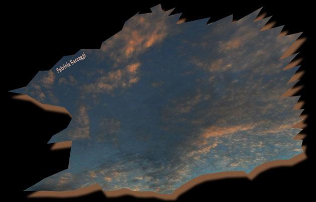 Photo du ciel Saphir
