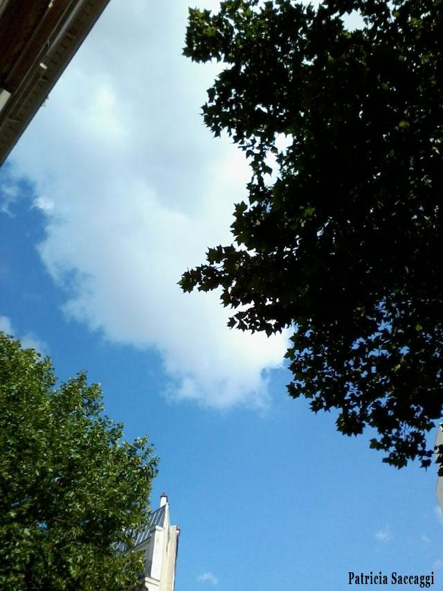 Photo du ciel Tendre vert