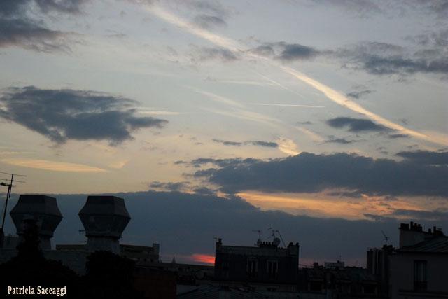 Photo du ciel Zébré