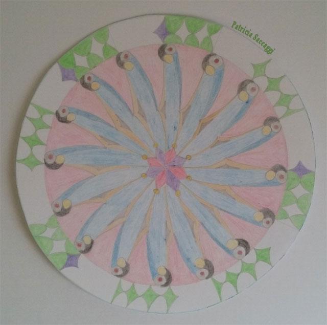 Mandala mille-pattes pour citation