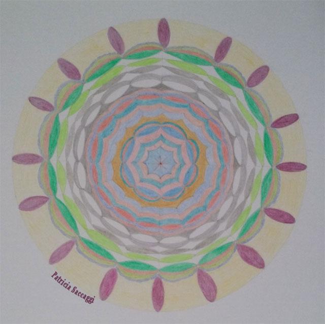 Mandala alvéoles pour citation