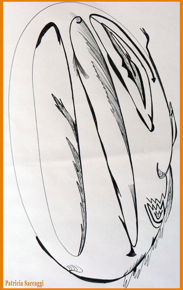 Dessin au stylo  Citrouille pour Halloween
