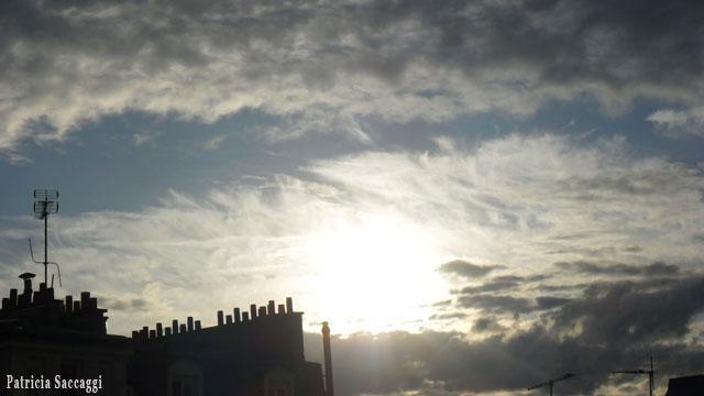 Photo du ciel Cotonneux