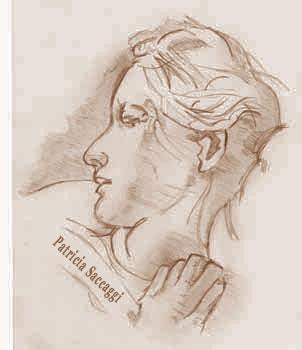Portrait au crayon Endormie
