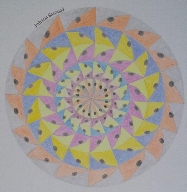 Mandala lames pour citation