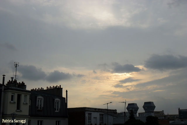 Photo du ciel Le génie sort de sa lampe