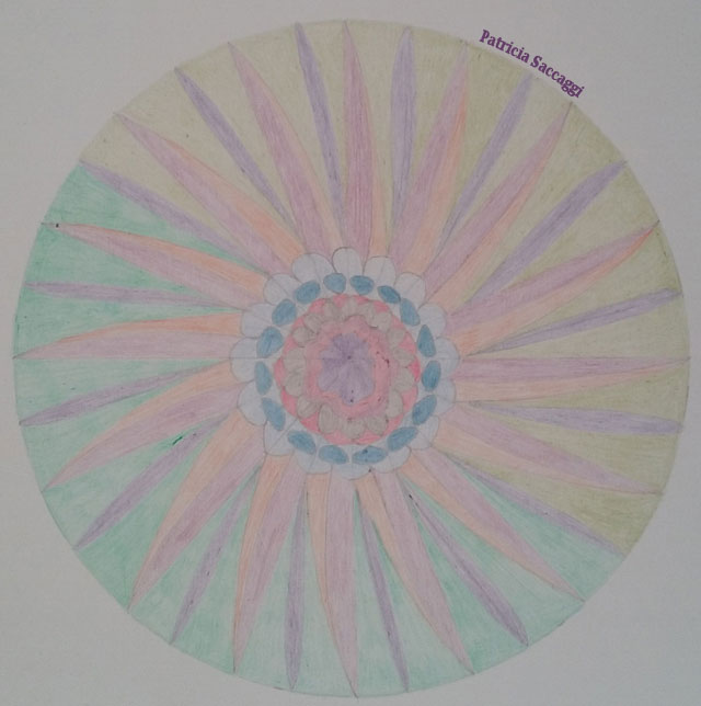 Mandala marguerite pour citation
