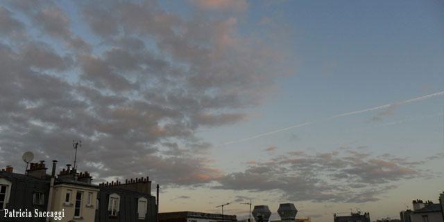 Photo du ciel Mousseline