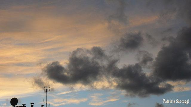 Photo du ciel Pot d'échappement