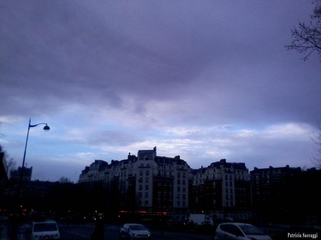 Photo du ciel Tout en mauve