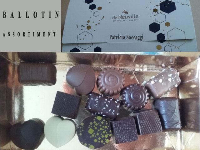 Ballotin de chocolats Neuville