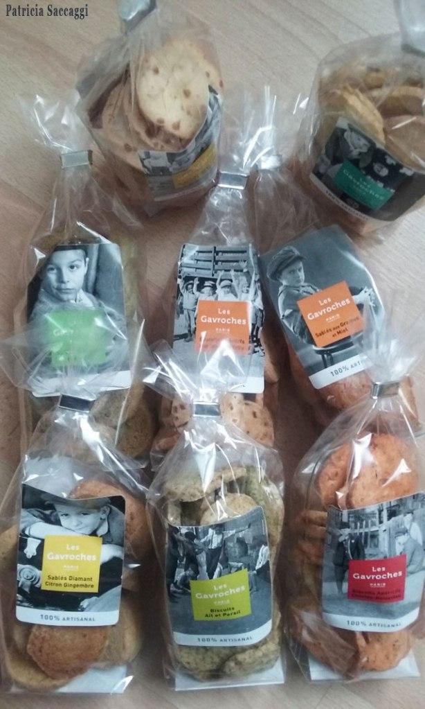 Biscuits salés et sucrés Gavroche