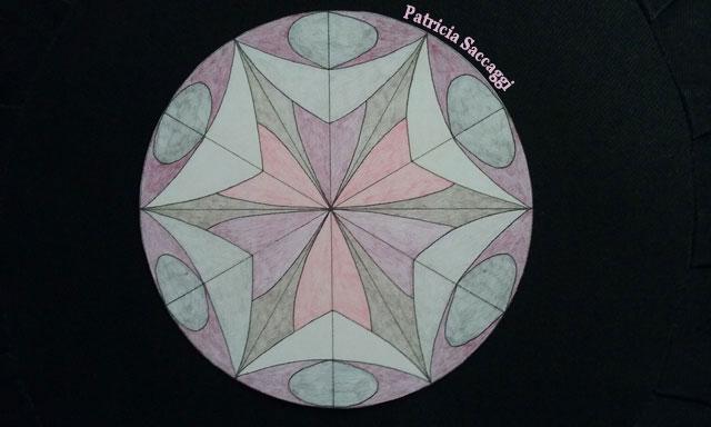 Mandala dessiné pour citation