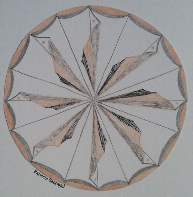 Mandala pliages