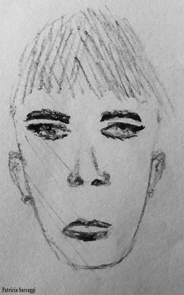Réflexion Dessin que j'ai fait au stylo à bille
