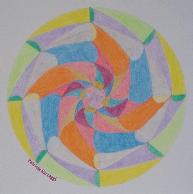 Mandala les rondins