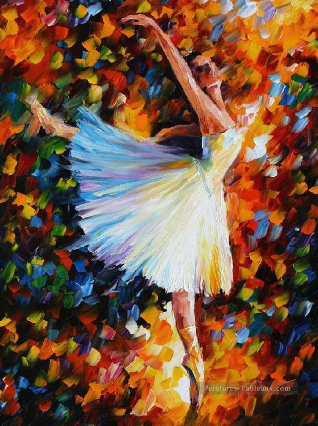 Tableau Le Ballet de Leonid Afremov