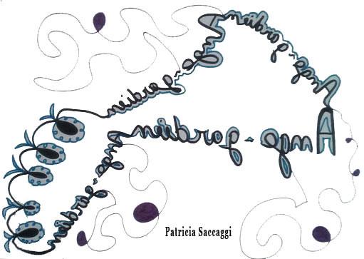 Dessin avec l'écriture spéculaire