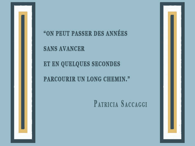 Une citation en bonds