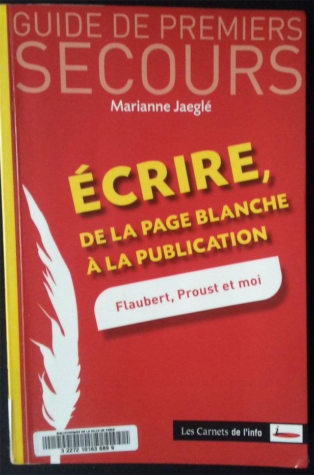 Livre Écrire de la page blanche à la publication