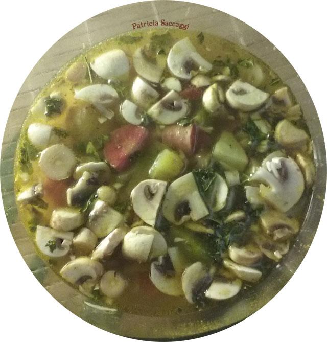 Photo de ma soupe légumes et pois chiches