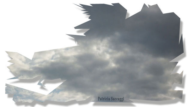 Bossu au visage pointu qui menace le ciel