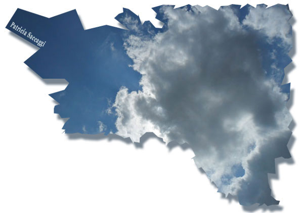 Colère dans le ciel bleu