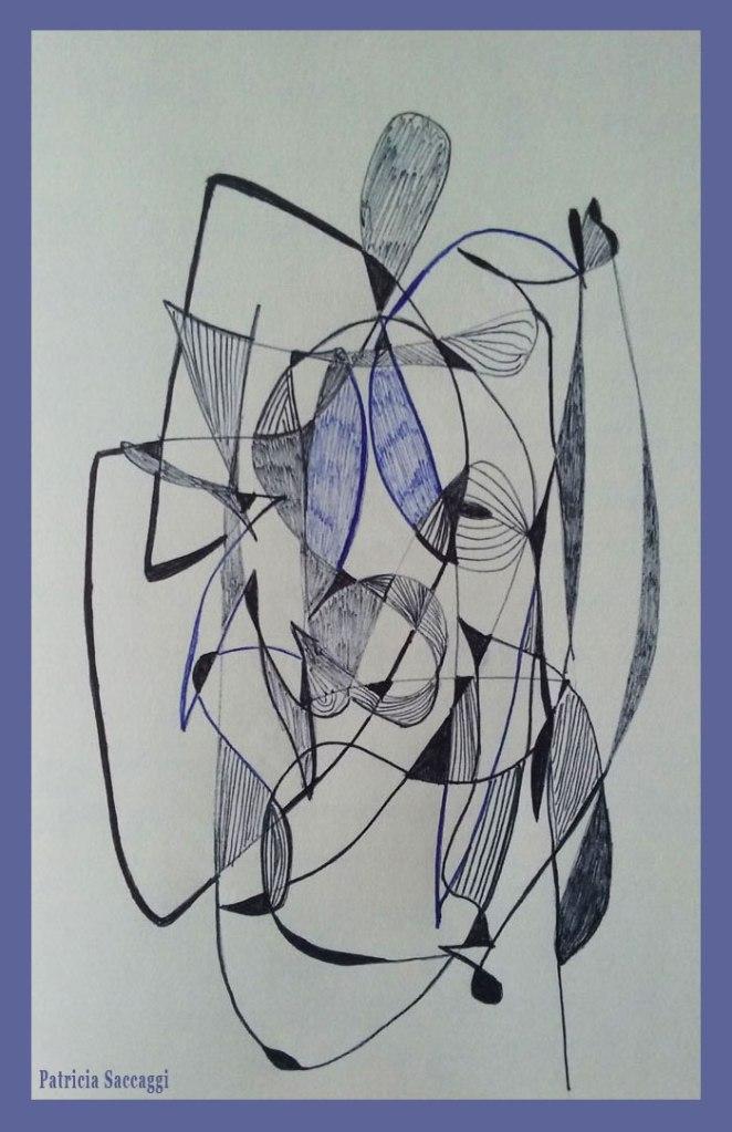Visage à la façon Picasso