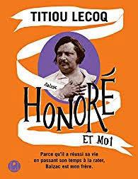 Livre Honoré et moi