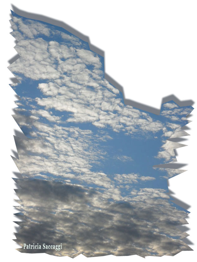 Ciel iceberg avec chantilly