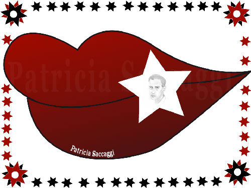 Dessin main de Boris Vian et le reste sur Illustrator