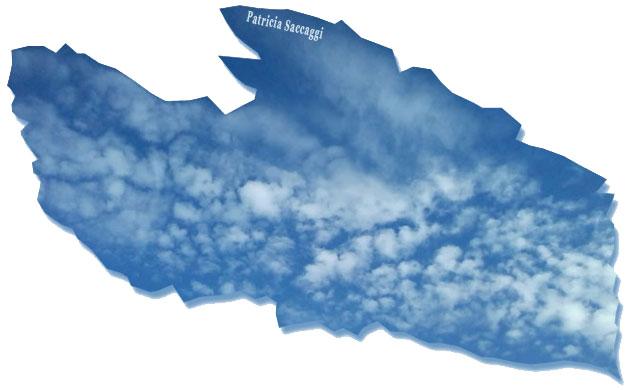 Ciel en plume de nuages