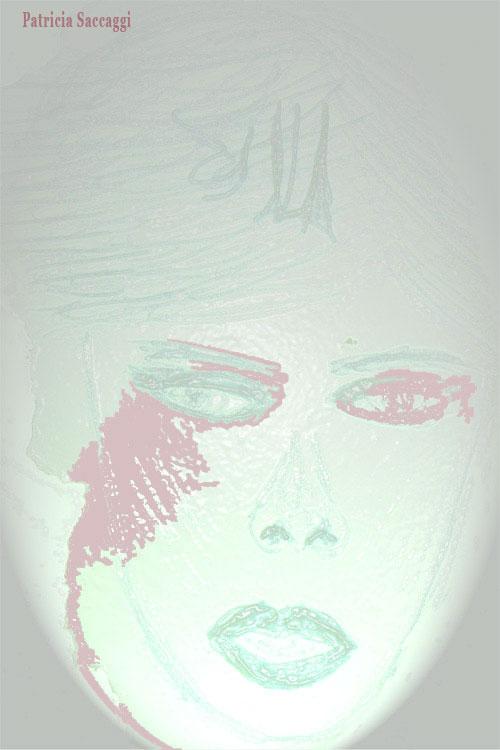Esquisse que j'ai faite au stylo et colorisée via Photoshop. Sous le vernis