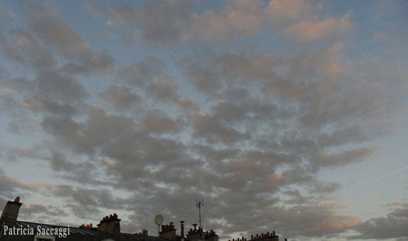 Envol de nuages