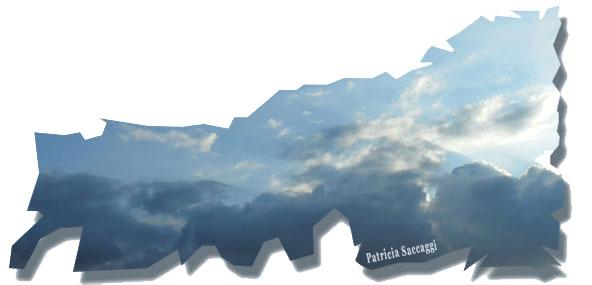 Pics de glace dans le ciel