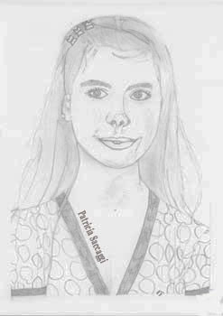Les souvenirs Portrait que j'ai fait au crayon à papier.
