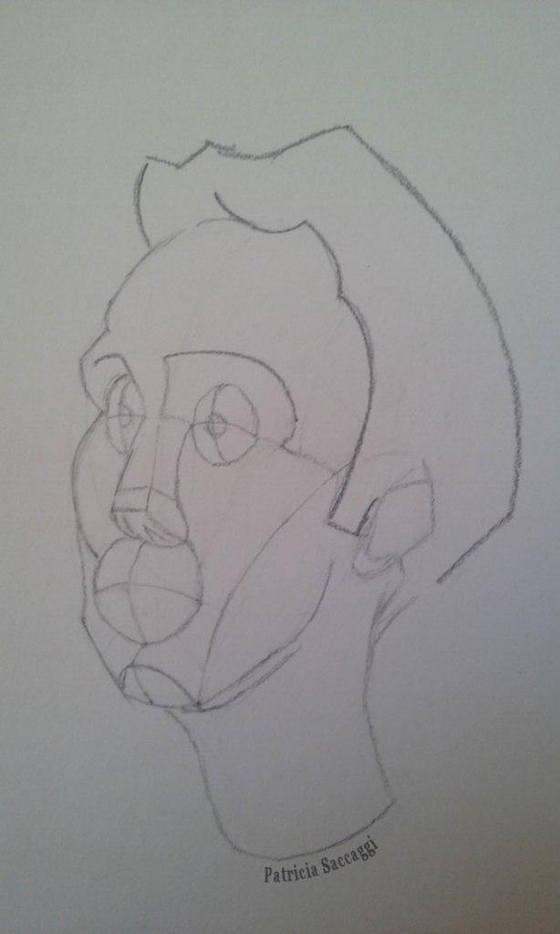 Gabarit pour visage 3D