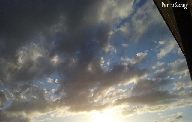 Les nuages en colère