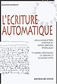 Livre l'écriture automatique