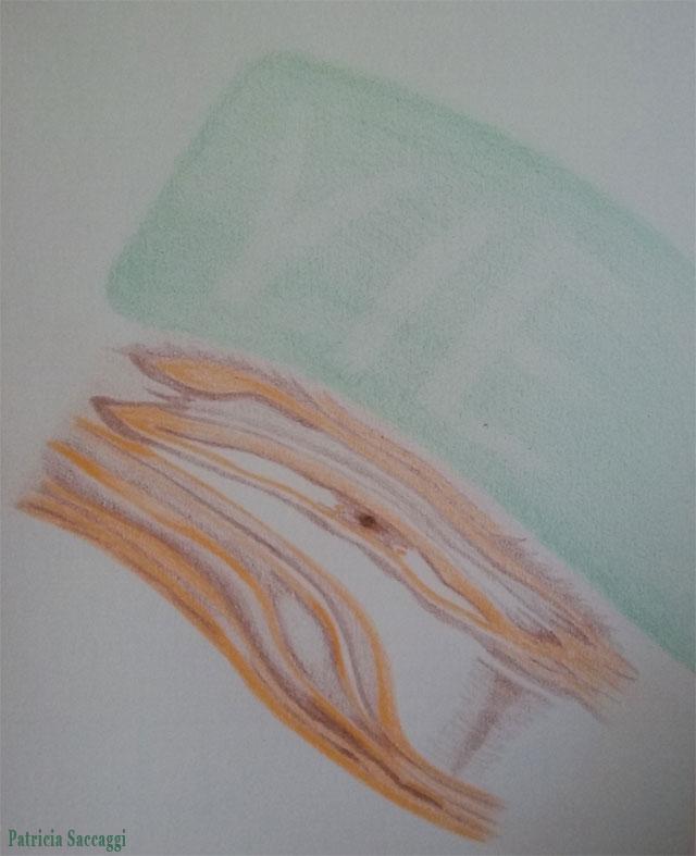 La vie surveille Dessin improvisé que j'ai fait aux crayons de couleur