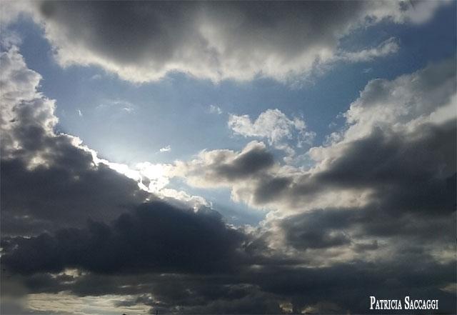 Le nuage qui forme une tête de loup