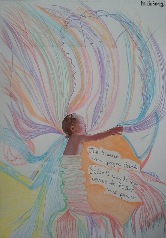 Art thérapie pour sortir de sa zone de confort par Emily Hawkes