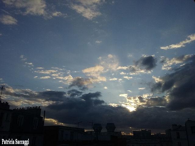 Photo que j'ai prise sur la beauté du ciel