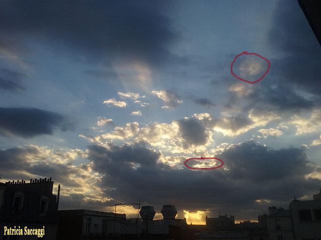 Photo que j'ai faite sur la beauté du ciel et ses habitants
